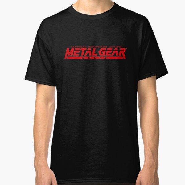 metal gear solid logo Classic T-Shirt