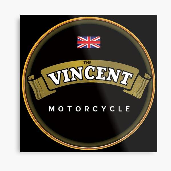 The Vincent Motorcycles UK Metal Print
