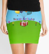 Happy Birthday Celebration Mini Skirt