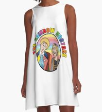 Doctor Who - Rainbow Doctors A-Line Dress