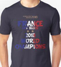 World Cup 2018 - France world champions Unisex T-Shirt