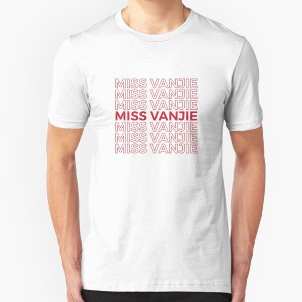 Miss Vanjie RuPaul's Drag Race Slim Fit T-Shirt