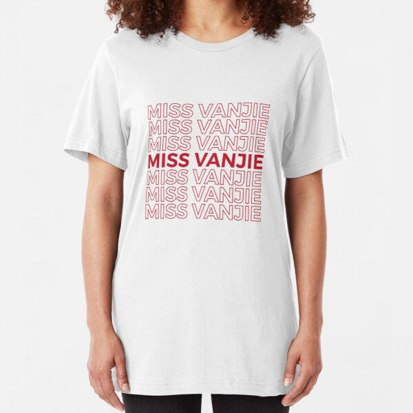 Miss Vanjie RuPaul's Drag Race Slim Fit T-Shirt
