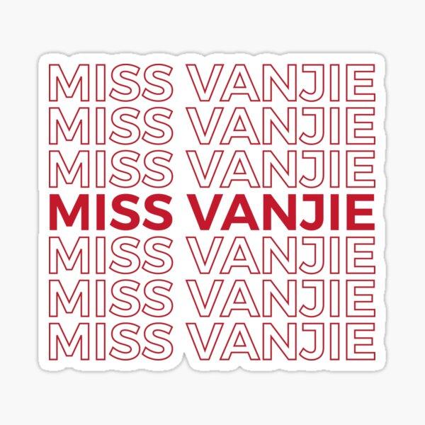 Miss Vanjie RuPaul's Drag Race Sticker