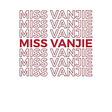 Miss Vanjie RuPaul's Drag Race by thequeershop
