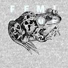 Very Fem Frog by MxSchatz
