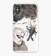 Divided. The thing in the snow storm iPhone Case