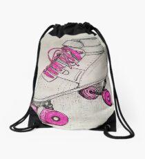 Vintage Skate Drawstring Bag