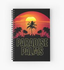 Paradise Palms - Fortnite Gamer Spiral Notebook