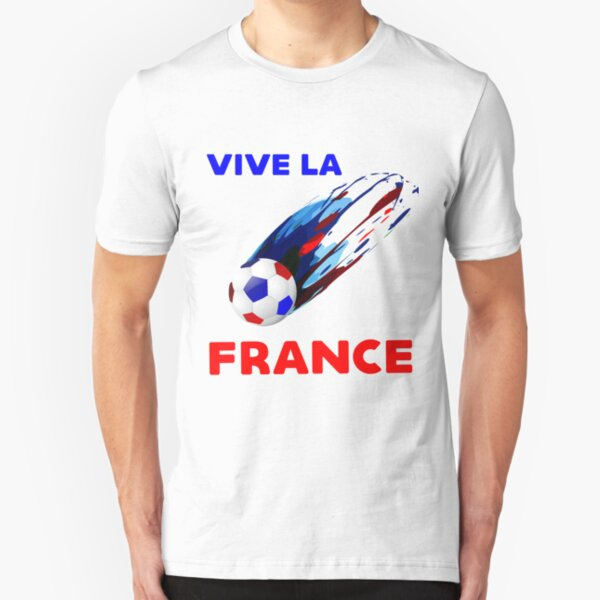 VIVE LA FRANCE UNIQUE PRODUCT FOR THE FRENCH CHAMPION TEAM Slim Fit T-Shirt