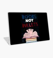 Books not Bullets Laptop Skin