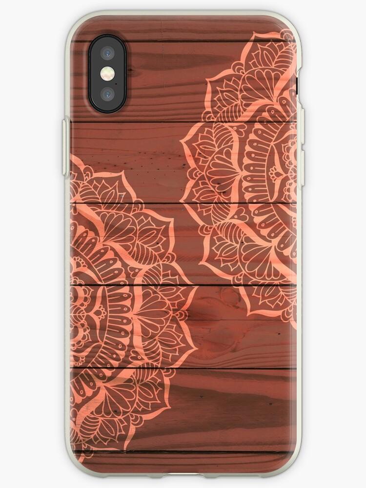 Wood Panel Mandalas by julieerindesign