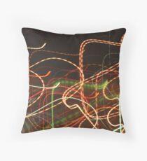 Tube Map Throw Pillow