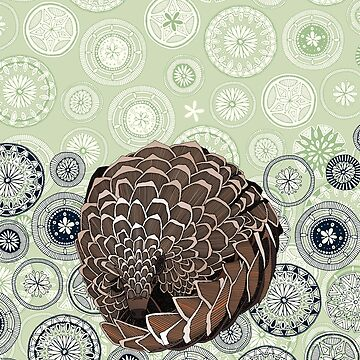 pangolin mandala eden by scrummy