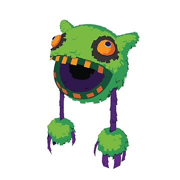 Big Mouth Piñatamon by mejak