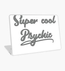 Your Friendly Psychic Tshirt Design Super cool psychic Laptop Skin