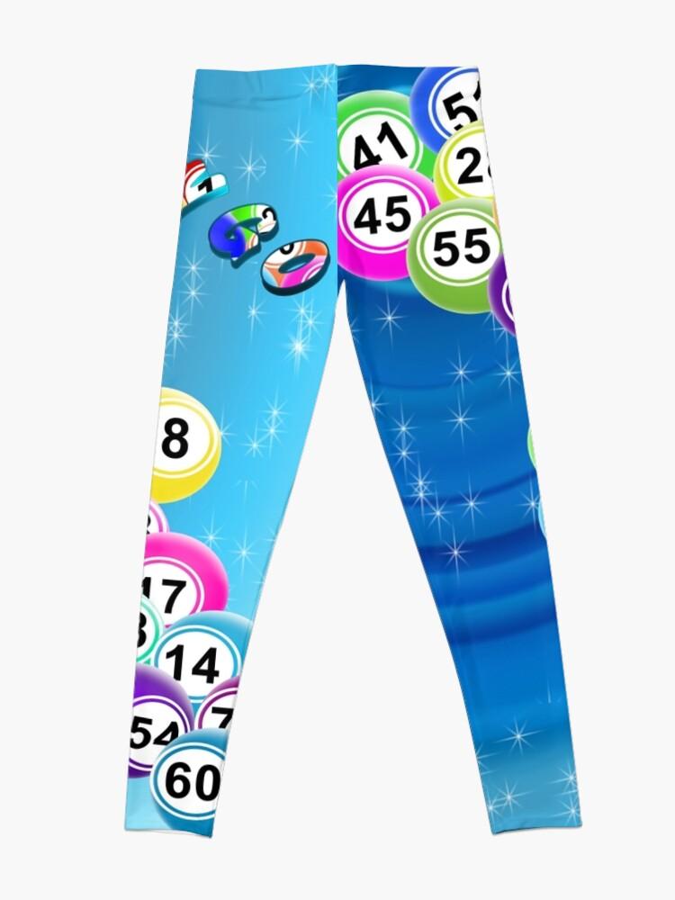Alternate view of Bingo Balls Leggings