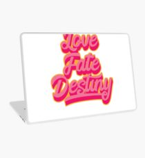 Your Friendly Psychic Tshirt Design love fate destiny Laptop Skin