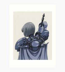 Claymore - Clare Art Print