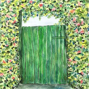 Green Door by CarolineLembke