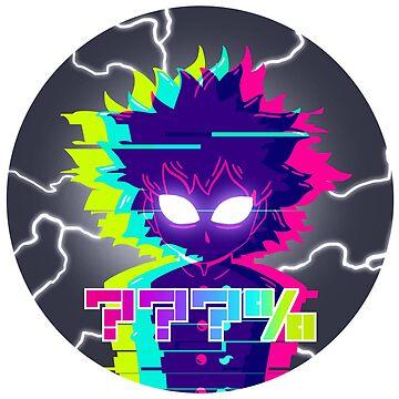 ???% Sticker - Mob Psycho 100 by Jellyroll