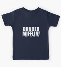 Dunder Mifflin Kids T-Shirt