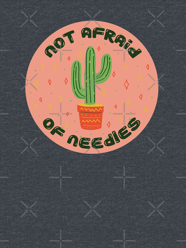 Not afraid of needles by doodlebymeg