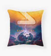Synergist Album Poster Throw Pillow