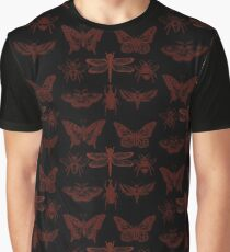Red Insect Series in pointillism Graphic T-Shirt