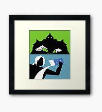 Powerpuff Alchemist Framed Print