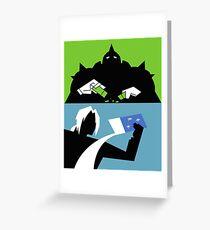 Powerpuff Alchemist Greeting Card