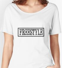 FREESTYLE Women's Relaxed Fit T-Shirt