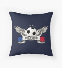World Cup Champion 2018 France Fan Gear Throw Pillow