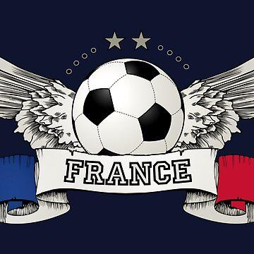 World Cup Champion 2018 France Fan Gear by BluePlanet