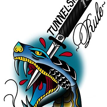 Tunnel Snakes Rule! by QuantumTattoo