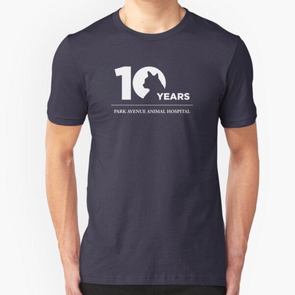 Park Avenue 10 Years (Cat) Slim Fit T-Shirt