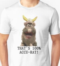 That's Accu-Rat - Rattus Rattus - Horrible Histories Slim Fit T-Shirt