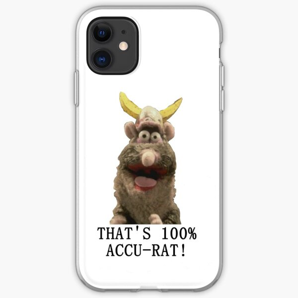 That's Accu-Rat - Rattus Rattus - Horrible Histories iPhone Soft Case