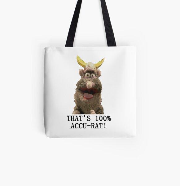 That's Accu-Rat - Rattus Rattus - Horrible Histories All Over Print Tote Bag