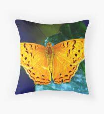 Cruiser Butterfly Throw Pillow