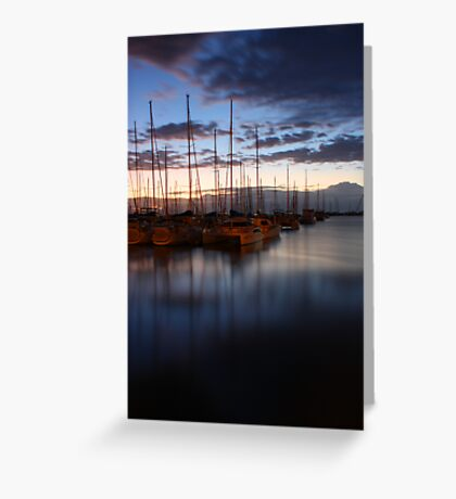 manly harbour Greeting Card