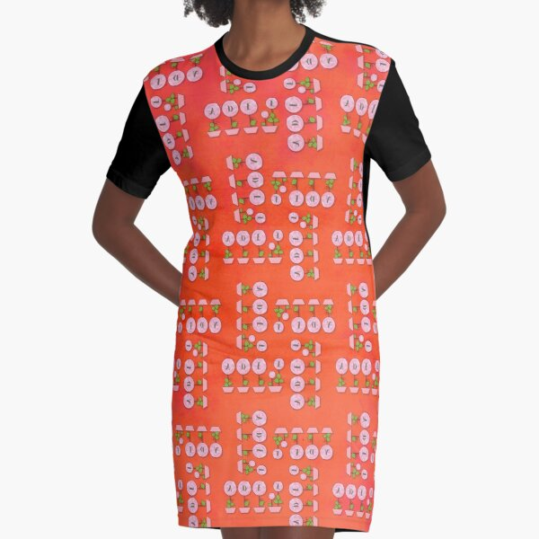 Adel's Summer Graphic T-Shirt Dress