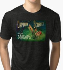Captain Scarlet and the Mysterons Tri-blend T-Shirt