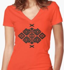 Naomi Nagata's Tattoo Women's Fitted V-Neck T-Shirt