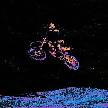 AIR TIME - Motocross Sports Art by RavenPrints