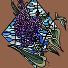 Lilac stained glass by resonanteye
