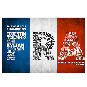 France Collaboration - World Cup Champion  by TheDFDesigns