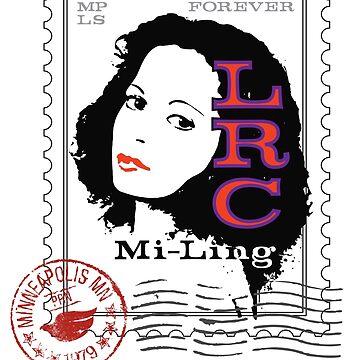 LRC Mi-Ling Postage Stamp by Printsfan