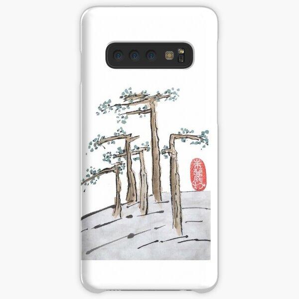 Flat Trees Landscape Samsung Galaxy Snap Case