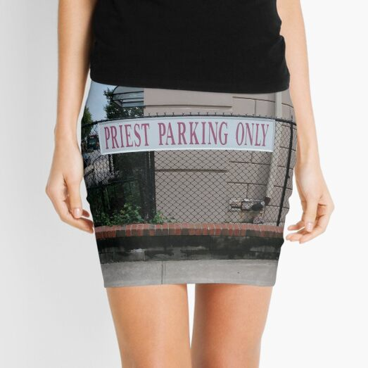 Priest parking only, New York, New York City, Brooklyn, #NewYork, #NewYorkCity, #Brooklyn Mini Skirt